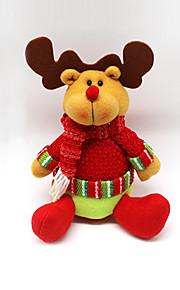 Joulukoristeet / Joululelut Lomatarvikkeet Joulupukki-asu / Hirvi / Lumiukko Tekstiili Kulta / Ivory / Valkoinen Kaikki