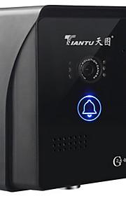 100 120°广角 CCD campanello sistema Senza fili Registrazione