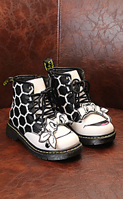Girl's Boots Others Leatherette Casual Green Purple White