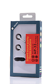 Neutral Product MP-33 Hoofdtelefoons (hoofdband)ForMediaspeler/tablet / Mobiele telefoon / ComputerWithmet microfoon / DJ / Volume