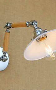 AC 220-240 4w E26/E27 Moderne/samtidig Krom Feature for LED / Pære medfølger,Atmosfærelys Svingarmslamper Wall Light