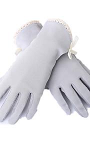 berøringsskjerm korte tynne uv hansker (grå)