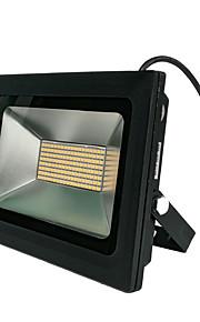 zdm 100W 480pcs 3328smd førte 9500lm vandtæt IP68 ultra tynde udendørs lys støbt lys varm hvid / kold hvid (ac170-265v)