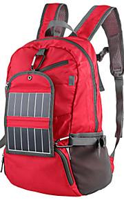 30L L Paquetes de Mochilas de Camping / mochila / Mochila Acampada y Senderismo / Escalar Al Aire Libre Listo para vestir / Panel Solar