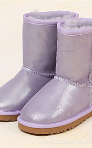 Girl's Boots Others Leather Casual Purple
