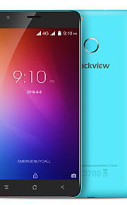 "Blackview E7 5.5 "" Android 6.0 4G Smartphone (Dual SIM Quad Core 8 MP 1GB + 16 GB Grey / White / Blue)"