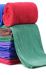 30 * 70 bil rengøring håndklæde slebet tyk medium bilvask håndklæder super blødt hår microfiber