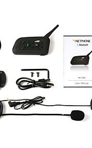 motorhelm rit bluetooth v6-1200 nieuwe walkie-talkie verpakking