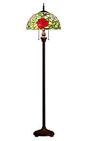 60W Tiffany Stehleuchte , Feature für LED / Augenschutz , mit Andere Benutzen An-/Aus-Schalter Schalter