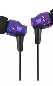 AWEI ES-800i Hovedtelefoner (I Øret)ForMedie Player/Tablet / Mobiltelefon / ComputerWithLyd-annulerende