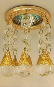 Gold Crystal Recessed Lighting Modern LED Aisle Light Corridor Lights Porch Lamp