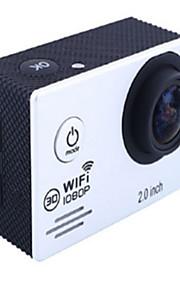 SJ7000 Actiecamera / Sportcamera 20MP 4608 x 3456 WIFI / Verstelbaar / Draadloos / Groothoek 30fps Neen ± 2EV Neen CMOS 32 GB H.264Enkele