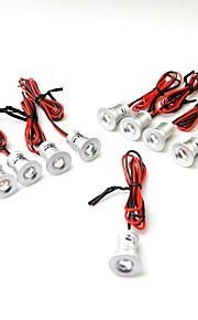 9PCS 120LM Warm White / Cool White  LED Cabinet Lights AC/DC12V
