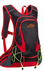 18L L Pyöräily Reppu Backpack Pyöräily Ulkoilma Suoritus Kestävä Keltainen Vihreä Vaaleanpunainen Musta Sininen