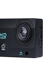 X2 Actiecamera / Sportcamera 16MP 4000 x 3000 WIFI / Waterbestendig / Verstelbaar / Draadloos 30fps 4X ± 2EV 2 CMOS 32 GB H.264Enkele