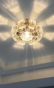 Plafonieră Alb Cald / Alb Rece Cristal / LED / Stil Minimalist / Bec Inclus 1 bc