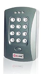 enkelt dør rfid adgangskontrolsystem (indbygget kortlæser adgangskode tastatur)