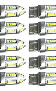 10st hoge kwaliteit t20 7443 15w geleid remlicht T20 leidde knipperlicht t20 geleid omgekeerde lamp 100% automodellen geschikt