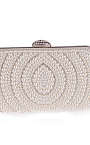L.west Women Elegant High-grade Pearl Evening Bag