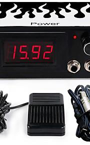 solong tatovering dual maskin tatovering strømforsyning for maskin nål grep blekk kit P101