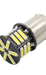 2x 21-7020-smd 1156 P21W rv camper LED binnenverlichting lamp BA15s wit 12v