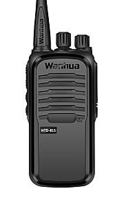 Wanhua htd815 kommercielle professionelle trådløse walkie-talkie 6w uhf 403-480mhz