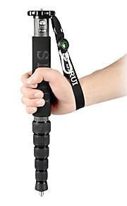 sirui® p-326 carbon fiber eenpootstatief draagbaar voor reizen