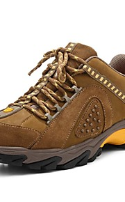 Men's Athletic Shoes Spring Summer Fall Winter Comfort Nappa Leather Outdoor Casual Athletic Split Joint Khaki Hiking