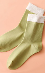 Women Medium Socks,Cotton