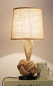 40 Rústico Luminária de Escrivaninha , Característica para Proteção para os Olhos , com Pintado Usar Interruptor On/Off Interruptor