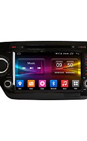 8 inch Android 6.0 quad core HD-scherm 1024 * 600 in-dash auto dvd speler gps navigatie voor kia k2 rio 2011 2012 met 2GB ram