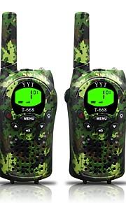 esercito per walkie talkie bambini 22 canali e (fino a 5 km in aree aperte) armygreen walkie-talkie per i bambini (1 coppia) t668