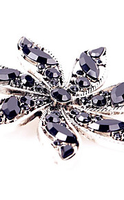 Broches Bergkristal Legering Zwart Modieus Sieraden Feest Dagelijks Causaal
