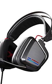 xiberia s25 spel oortelefoon LED verlichting stereo hoofdband gloeiende pc gamer hoofdtelefoon super bass 7.1 usb trillingen hoofdtelefoon