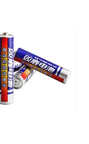 Shuanglu AAA-batterij carbon 1.5v laag vermogen speelgoed draadloze toetsenbord en muis batterij 40 Pack