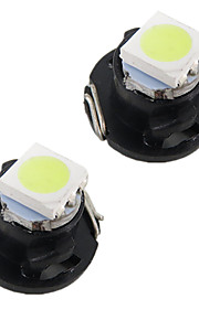 300x instrumentbrættet LED pære klynge gauges lyse interiør lampe t3 / T4.2 / t4.7 100pcs hver hvid farve