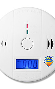(1 stuks) safearmed LCD display co koolmonoxidevergiftiging sensormonitor draagbaar en compact alarm detector binnenlandse veiligheid