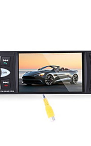4022D 4.1 Inch Car MP5 Player with Remote Control Camera Bluetooth TFT Screen Stereo Audio FM Station Auto Video