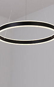 40 Pendant Light   Modern/Contemporary Simple LED Chandelier Metal Living Room Bedroom Dining Room Kitchen