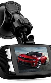 g1w -t650 2,7 tommer 1080p fuld HD bil DVR 5.0MP opløsning 4x digital zoom videooptager 120 graders vidvinkel linse med oplader