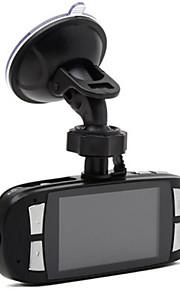 g1w-cb fuld sort 2,7 tommer 1080p fuld HD bil DVR 4x digital zoom videooptager 120 graders vidvinkel linse med oplader (sikker