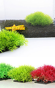 Decoración de Acuario Planta Acuática Artificial Plástico