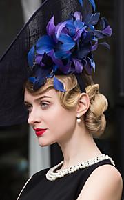Flax Headpiece-Wedding Special Occasion Casual Outdoor Fascinators Hats 1 Piece