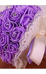 Свадебные цветы Круглый Розы Букеты Свадьба Партия / Вечерняя Поролон 23 см