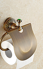Держатель для туалетной бумаги / Античная латуньМедь /Современный