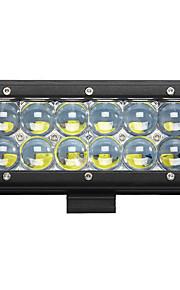 1stk 7inch 60W førte arbejde lys bar 5d spot beam suv offroad kørsel tågelygterne LED lys bil båd lamper