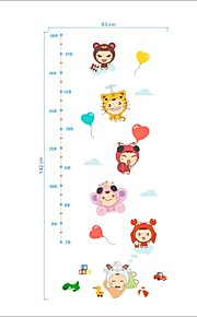Animals Cartoon Still Life Wall Stickers Plane Wall Stickers 086 Decorative Wall Stickers Height StickersVinyl Material Home DecorationWall