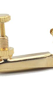 профессиональный Общие принадлежности Высший класс Скрипка Новый инструмент Металл Аксессуары для музыкальных инструментов Золотистый