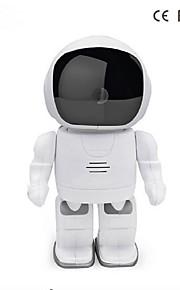 960p robot ip kamera hd wifi babyalarm 1.3MP CMOS trådløs cctv p2p audio ir nattesyn