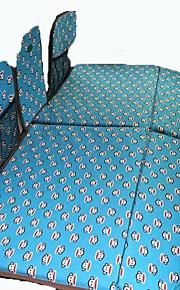 Azul Colchón de coches Doble(136*90*3cm)Algodón Portable Para Niños Cómodo Ajustable defensa equipamiento de seguridad